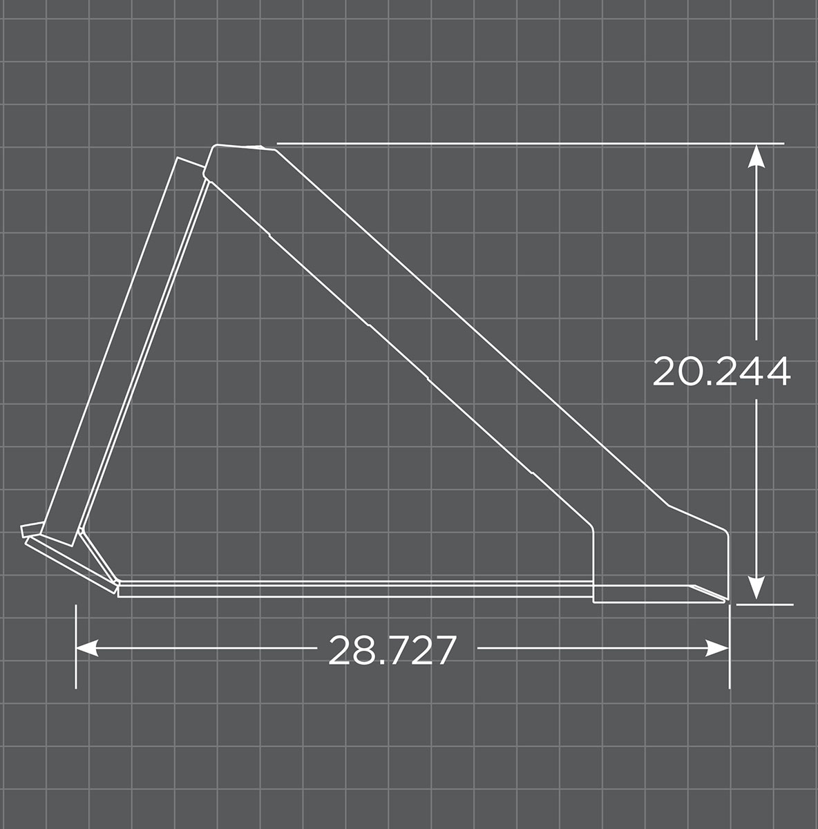 Standard Low Profile Bucket Schematic