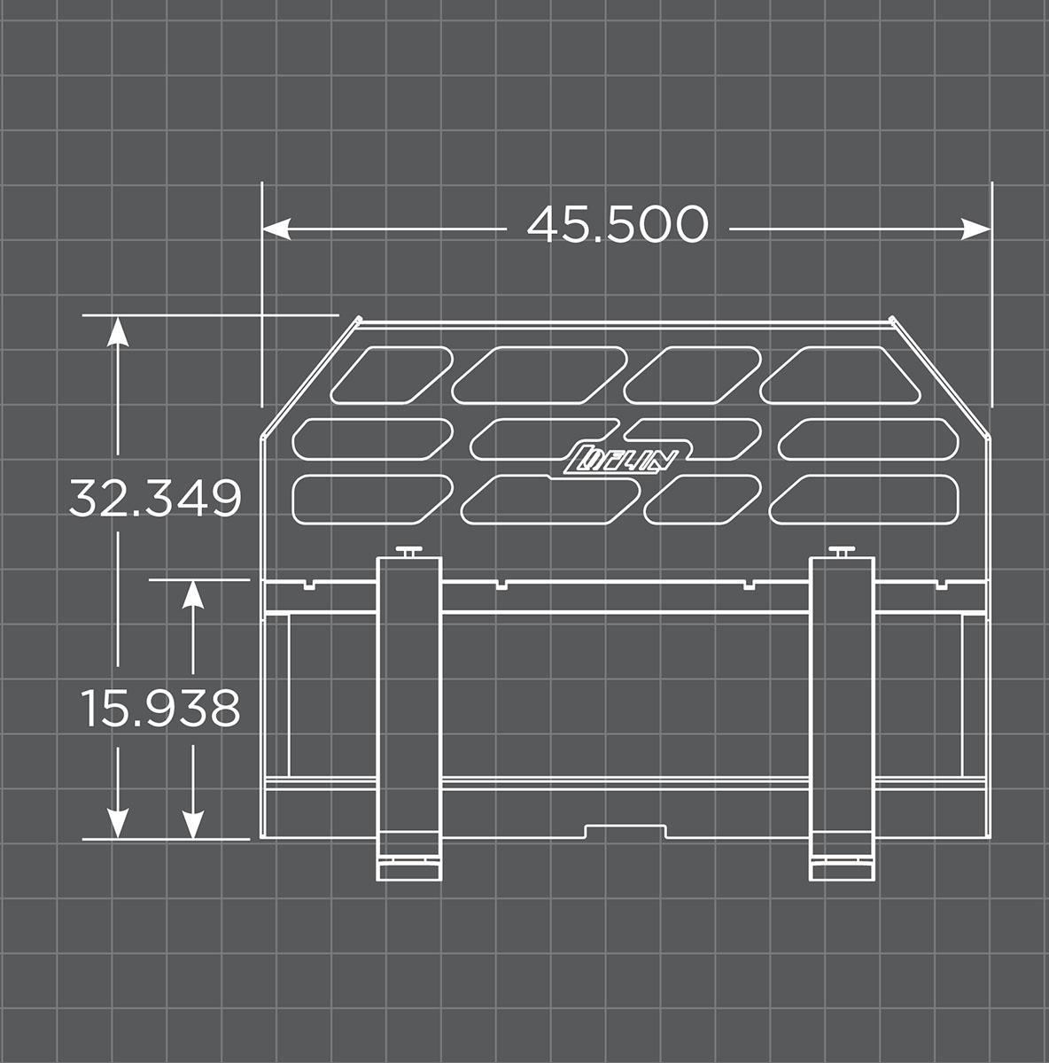 Pallet Fork Frame Schematic