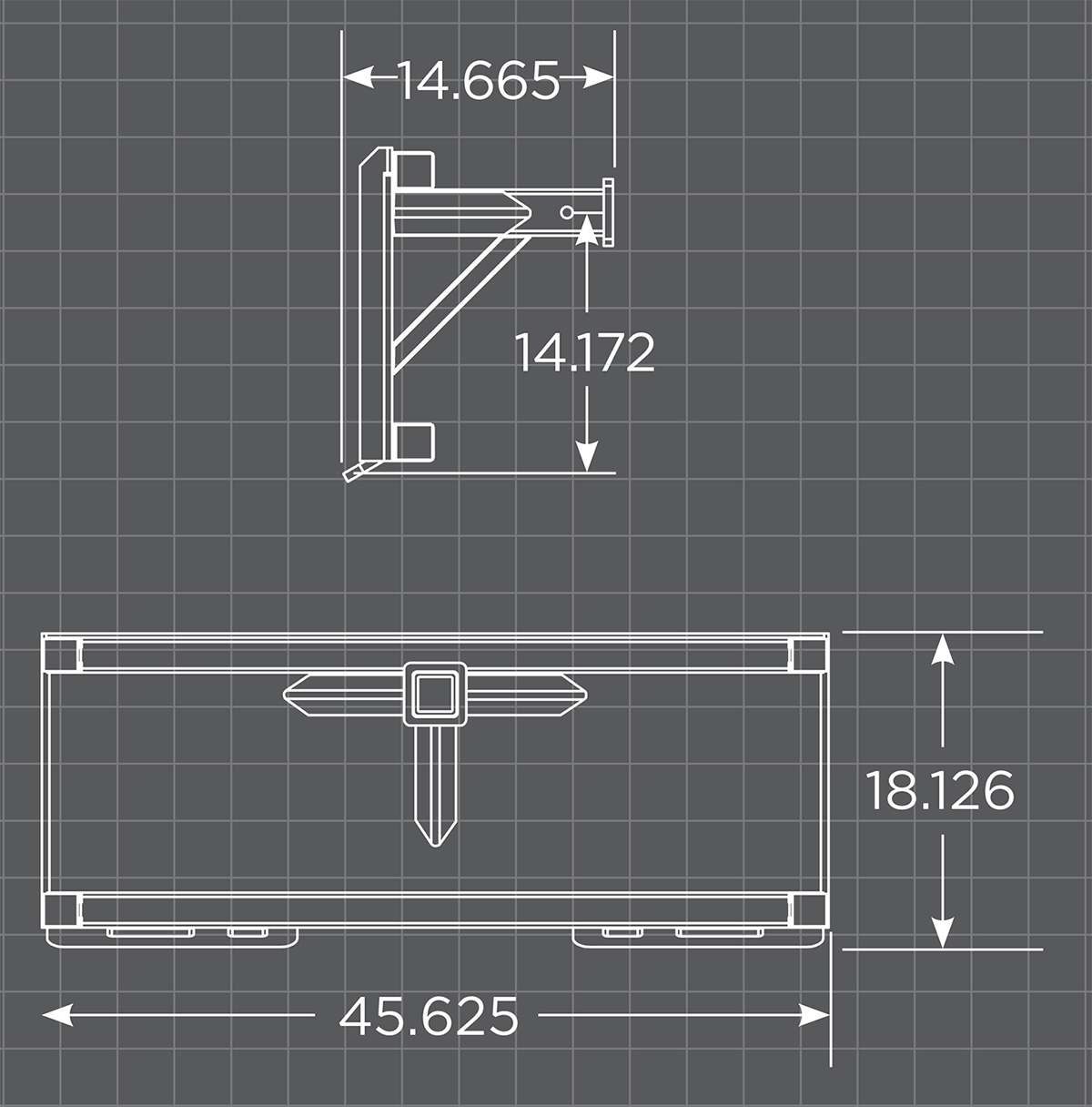 Trailer Hitch Adapter Schematic