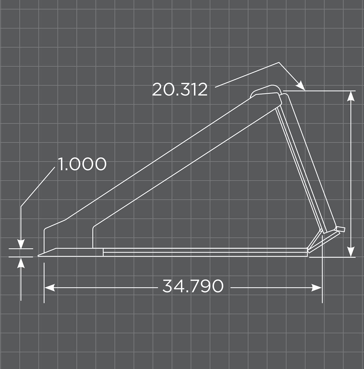 XHD Low Profile Bucket Schematic