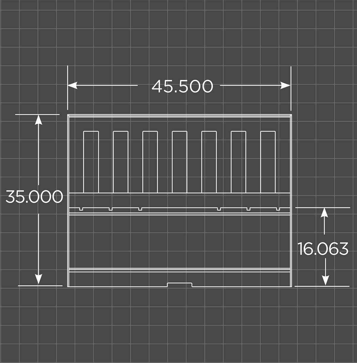 Mini Tractor Fork Frame Schematic