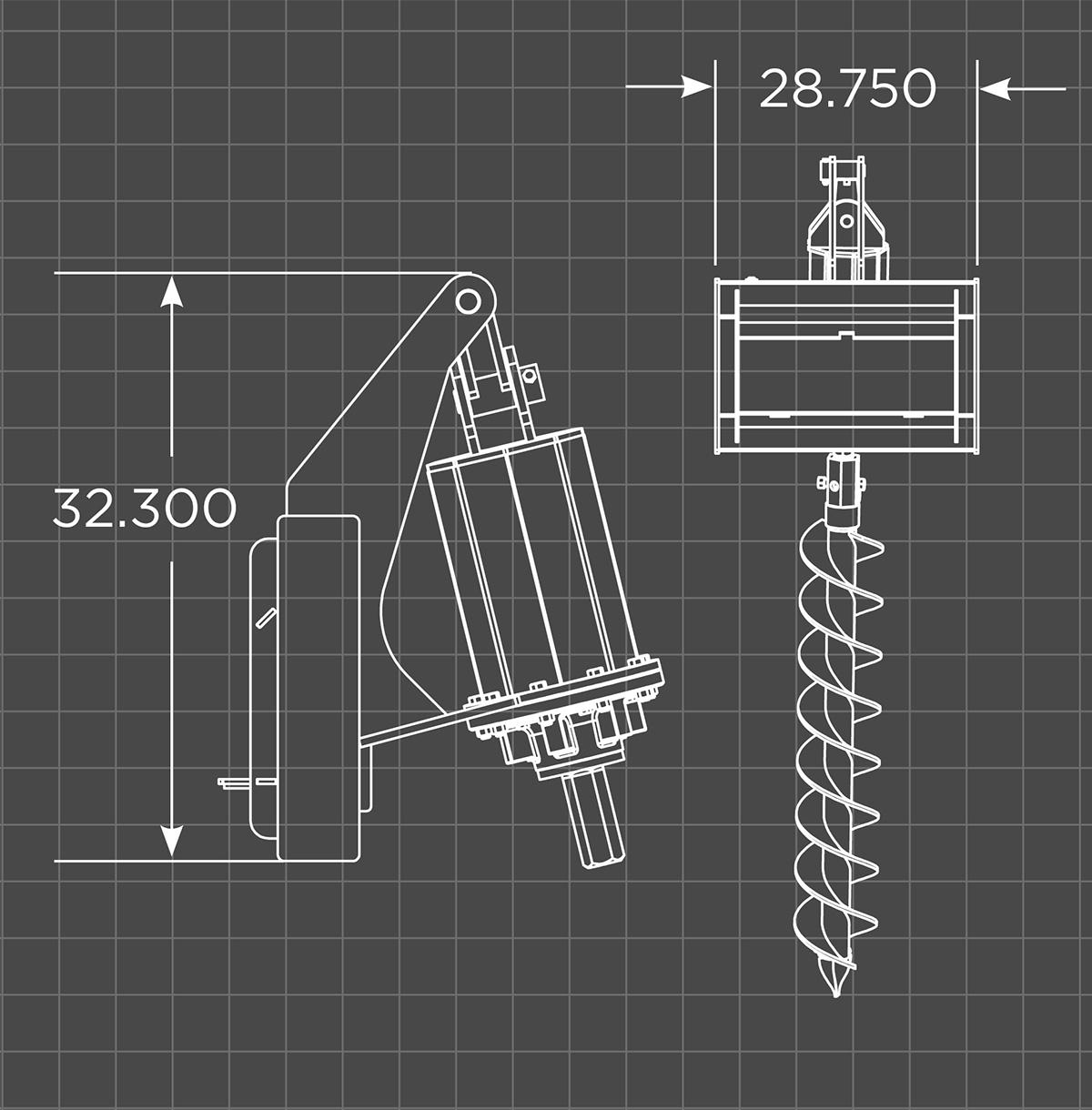 Mini Auger Schematic