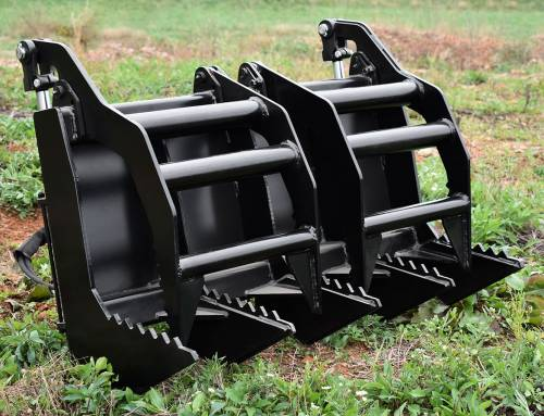 Skid Steer Vertical Grapple